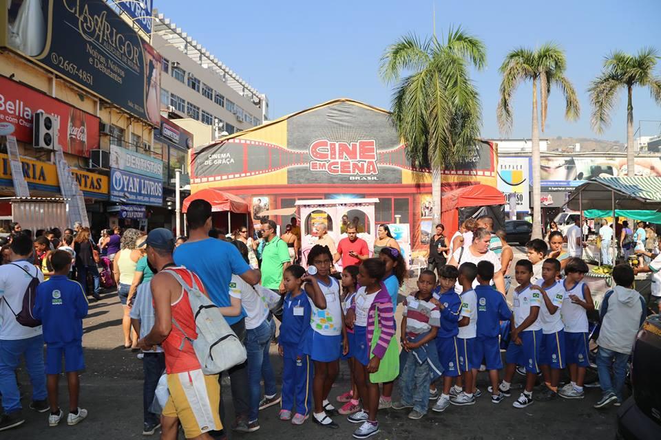 CCR NovaDutra leva sessões gratuitas de cinema para moradores de Pindamonhangaba, no Vale do Paraíba