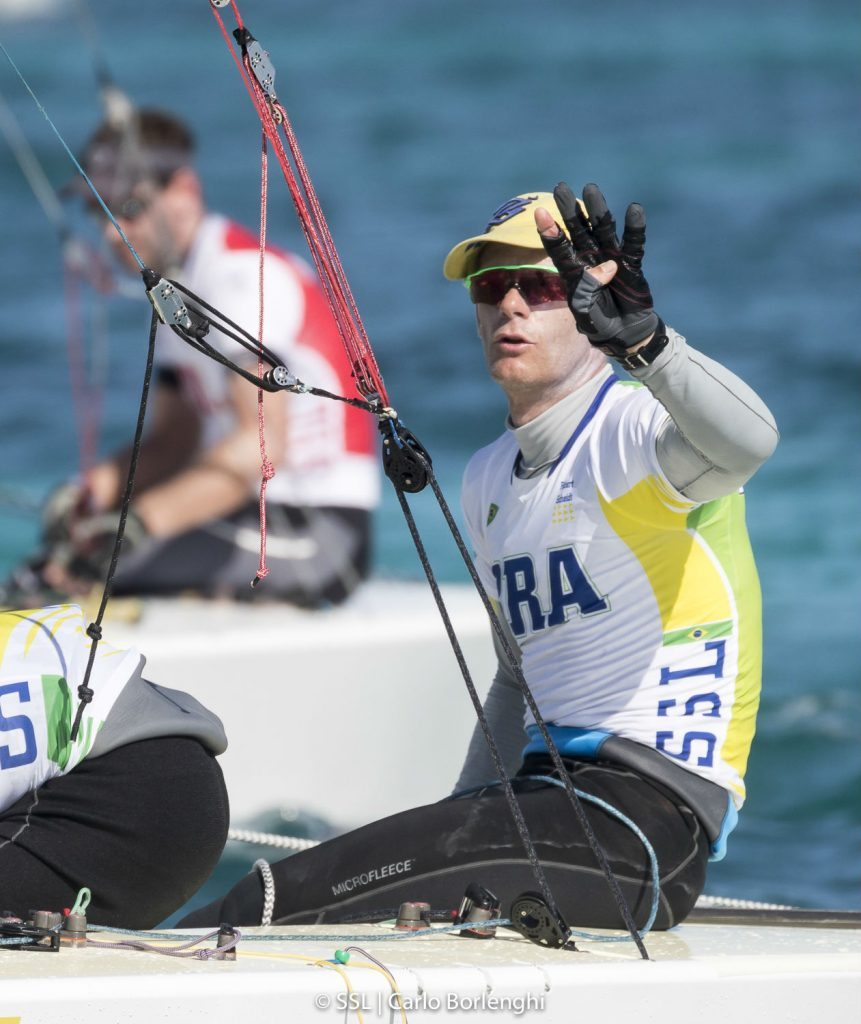 Scheidt mostra consistência e está perto da medal race do evento-teste para Olimpíada de Tóquio