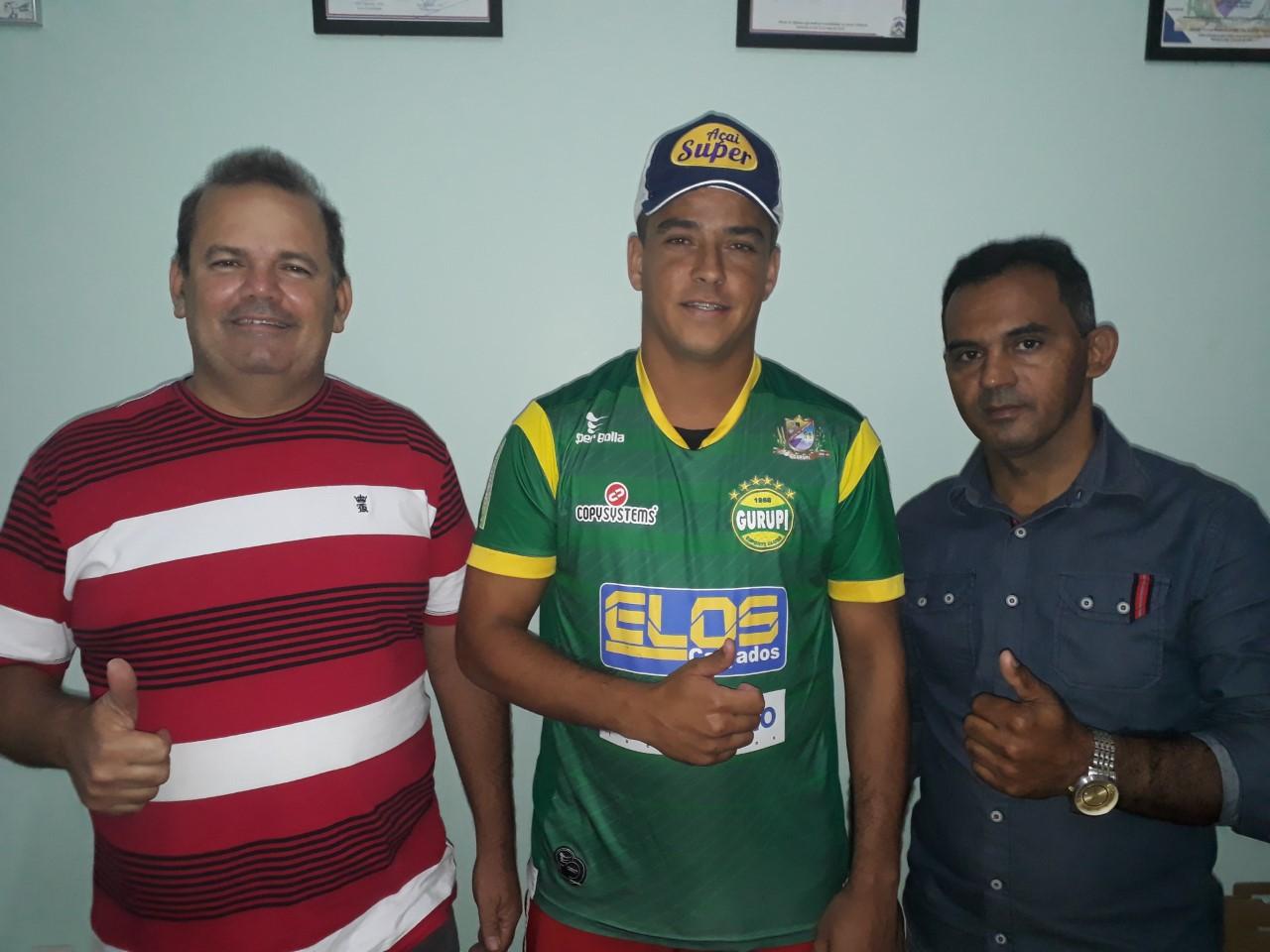 Gurupi anuncia atacante Tozin para o Tocantinense 2018