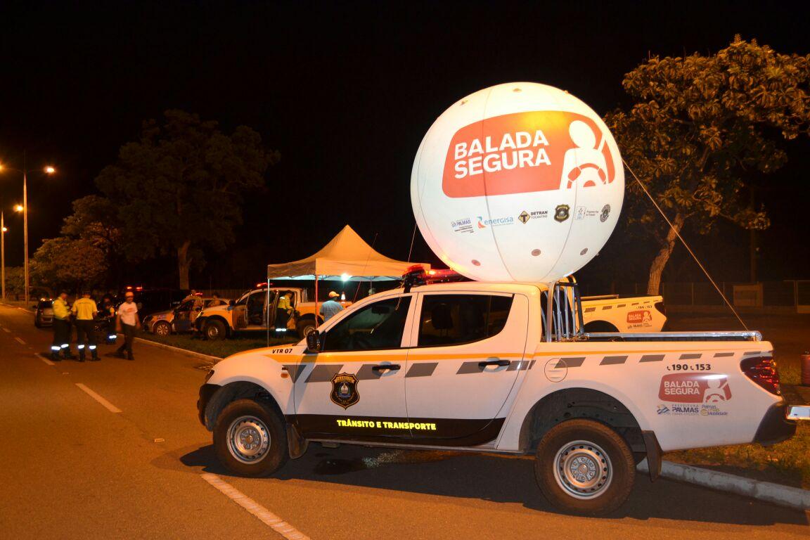 Operação Balada Segura realizou mais de 300 abordagens durante o final de semana em Palmas