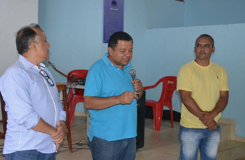 Pré-candidatos Márlon Reis e Cel. Benício participam de reunião no Clube da PM em Paraíso TO