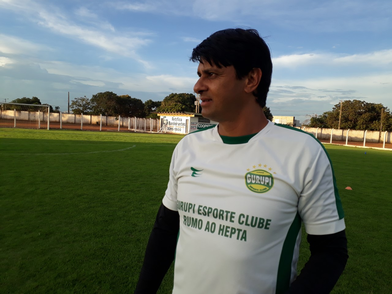 Wladimir Araújo espera conquistar mais um tocantinense