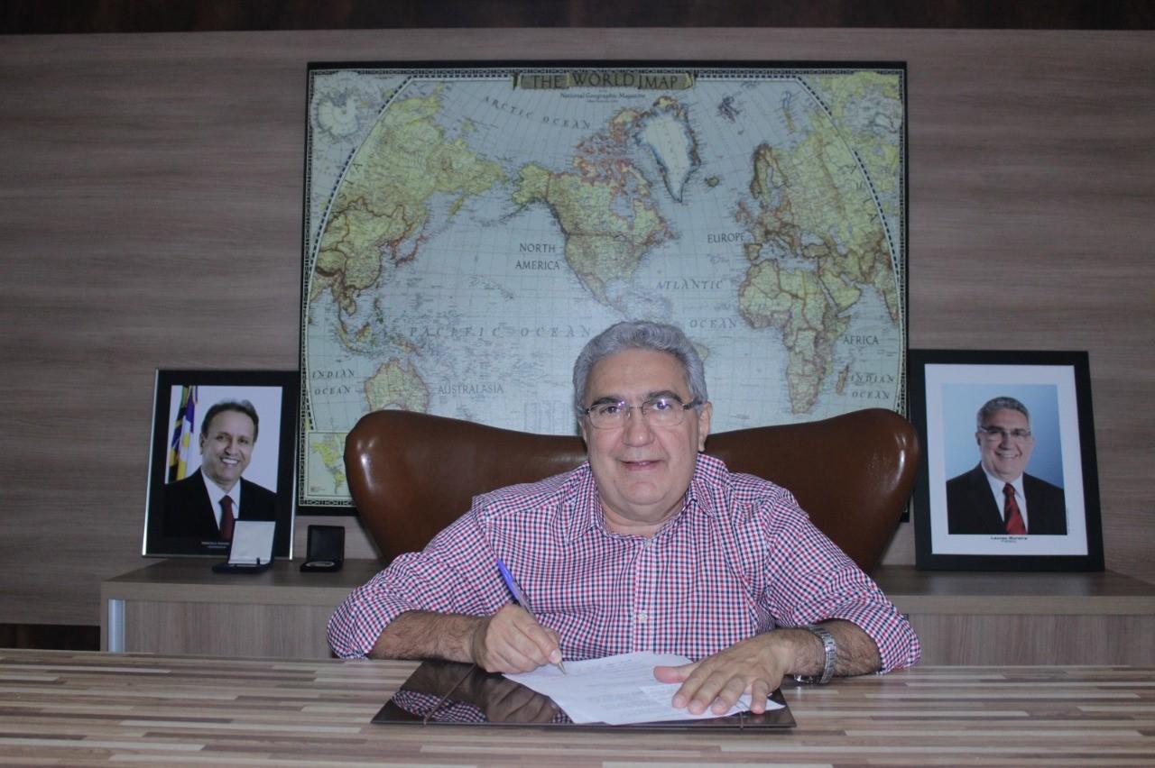 Prefeito Laurez Moreira receberá Selo de Responsabilidade Judiciária pelo TJTO