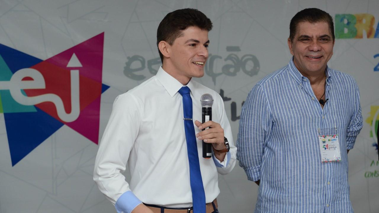 Secretário Nacional da Juventude e Amastha abrem Oficina de Capacitação do Estação Juventude