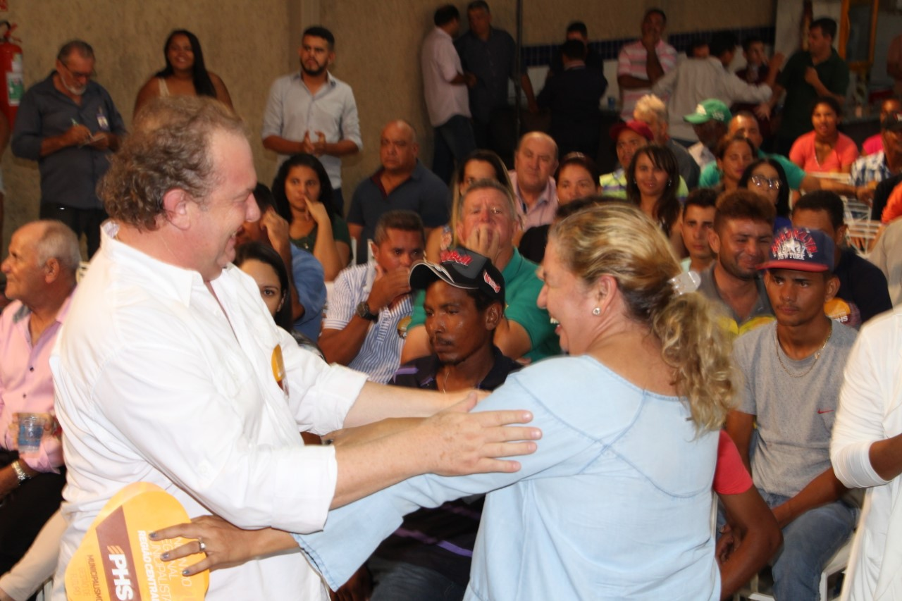 Porto Nacional recebe hoje comitiva do PHS para lançamento de Carlesse ao governo