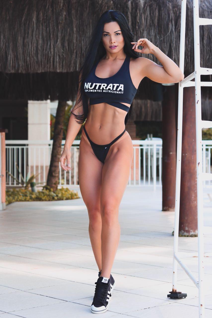 Fernanda D'avila, que parou o Arnold Classic 2017, faz mistério se dançará novamente no evento fitness
