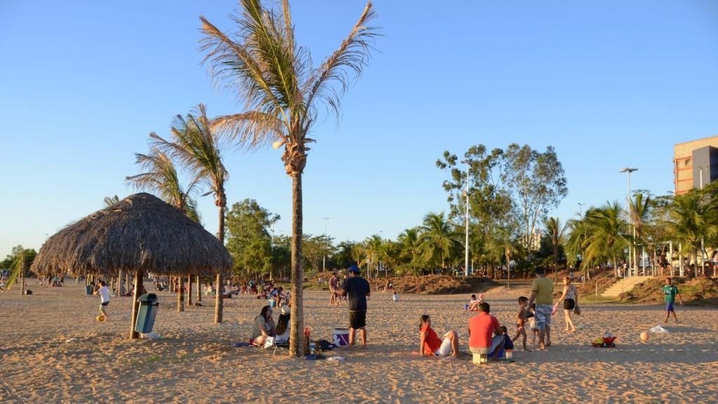 Espaços públicos ganham adesão dos palmenses
