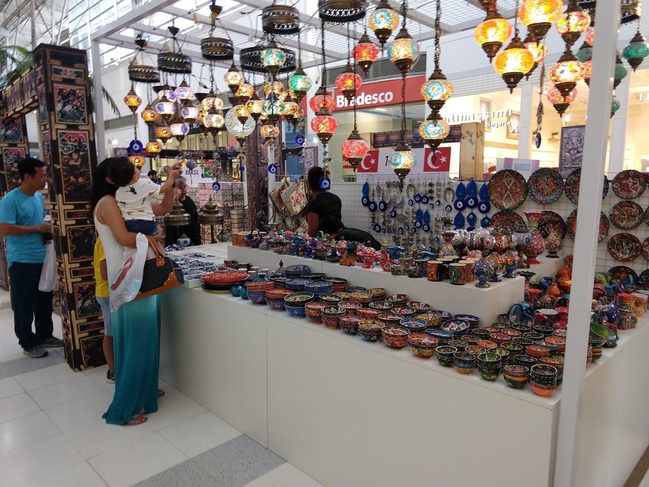 Feira Internacional de Artesanato e Decoração acontece até dia 29 no Shopping Tamboré