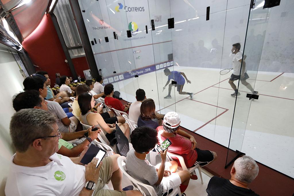 Squash: Tour das Américas chega a São Paulo com a disputa do Paineiras Open Brasil