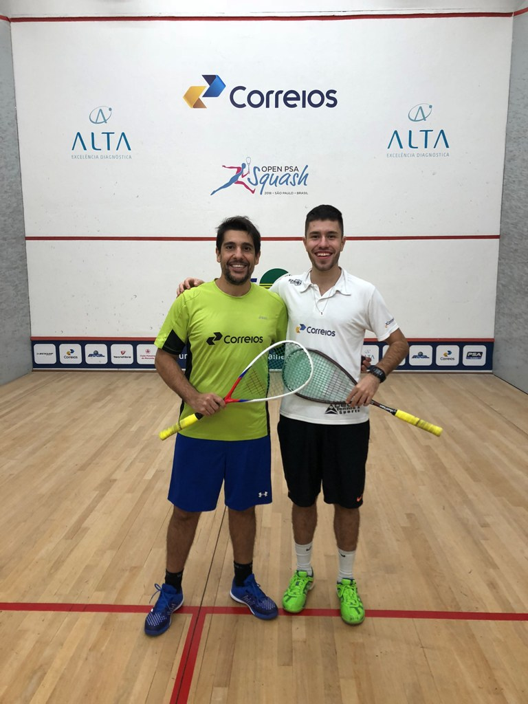 Squash: chave principal do Paineiras Open Brasil começa nesta quinta-feira com três brasileiros
