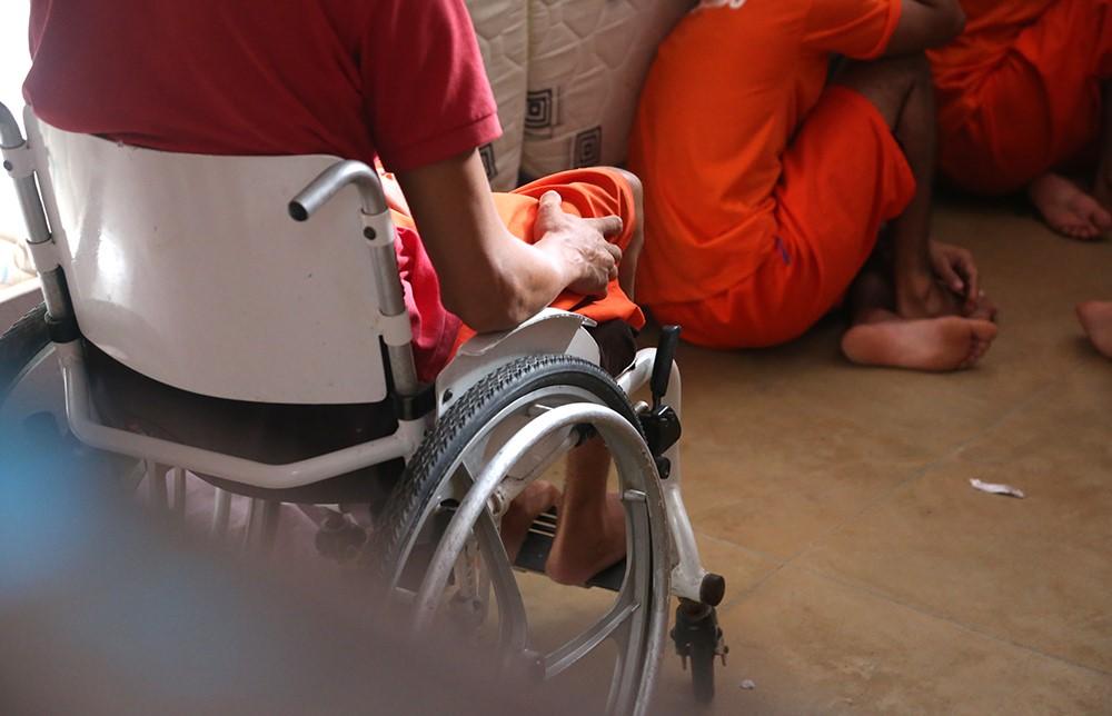 DPE identifica cadeirante na CPP de Palmas sem condições de acessibilidade