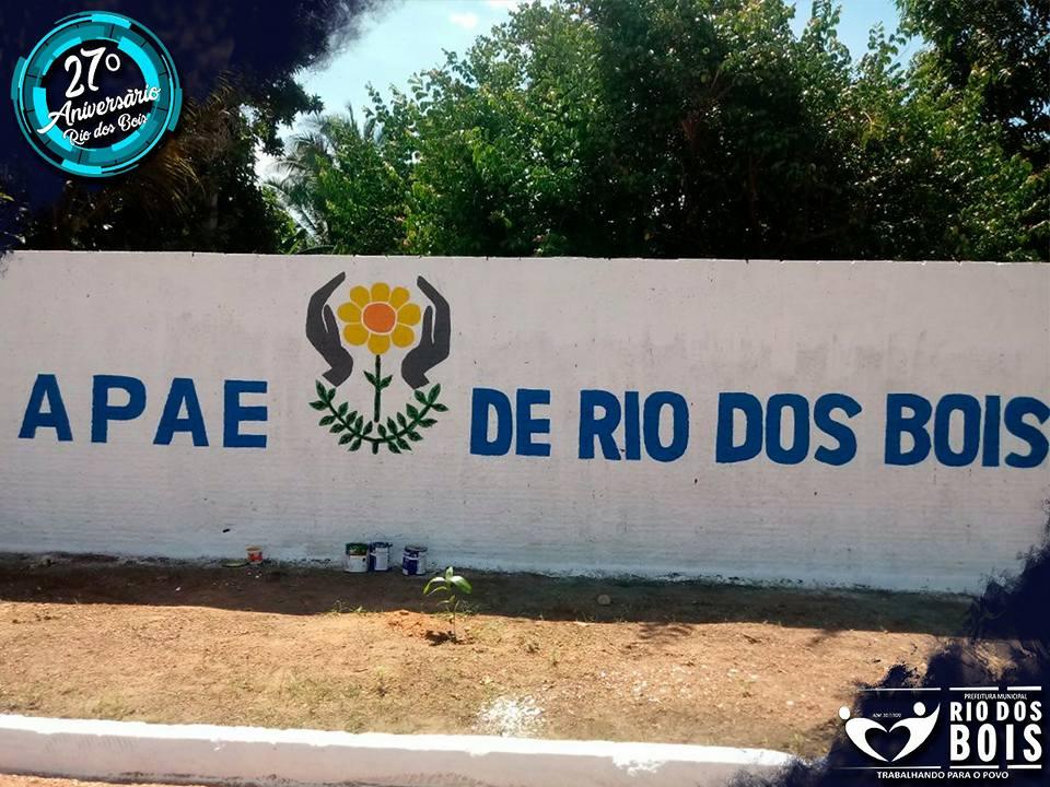 Fechada há 5 anos, APAE de Rio dos Bois é reinaugurada pela Prefeitura Municipal