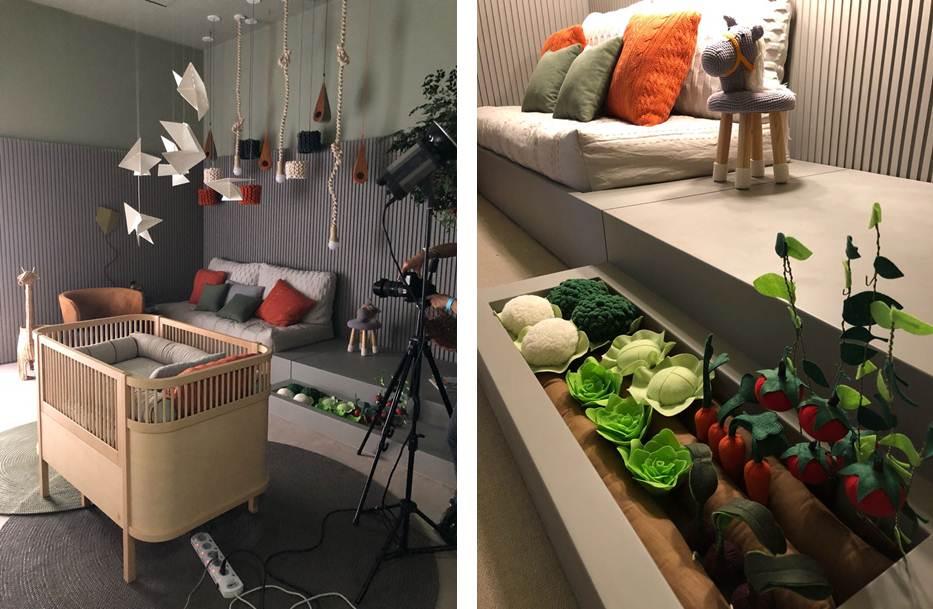 MN Arquitetura + Interiores assina quarto do bebê na CASACOR 2018