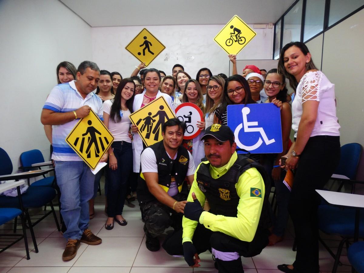 Maio Amarelo teve palestra sobre educação no trânsito para colaboradores da UPA e HMA em Araguaína (TO)