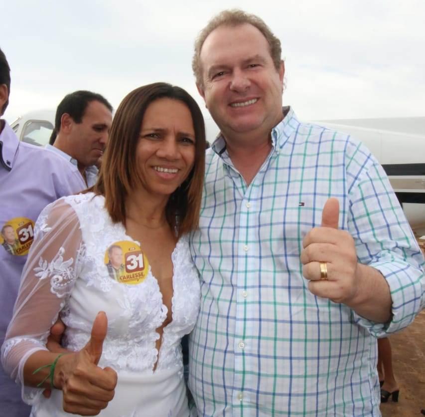 Prefeita de Natividade critica trocas constantes de Governo e declara apoio a Carlesse