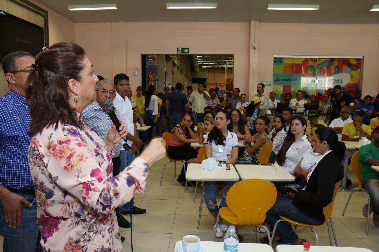 Kátia Abreu: trocaremos o imposto pelo emprego