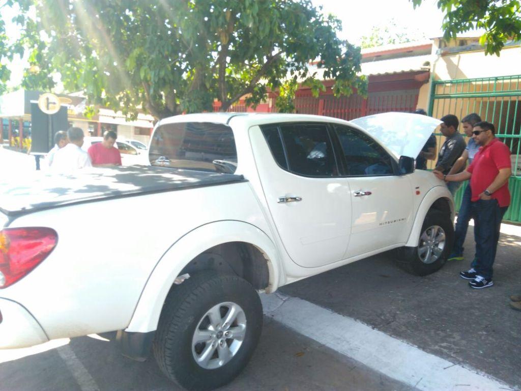 Polícia Civil apreende camionete clonada em Gurupi