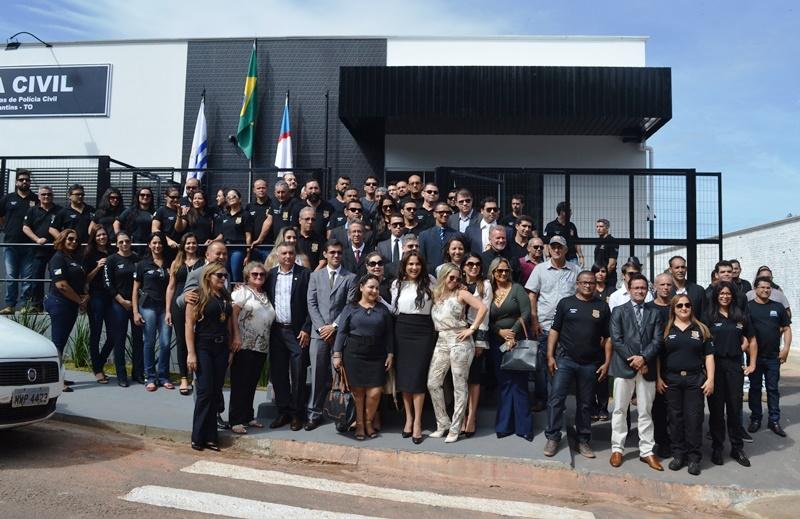 Governo do Tocantins inaugura Complexo de Delegacias de Polícia em Paraíso TO