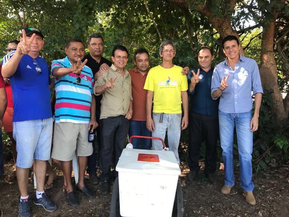 Vereador JC, de Paraíso, participa da final do Campeonato Rural de Futebol de Miracema