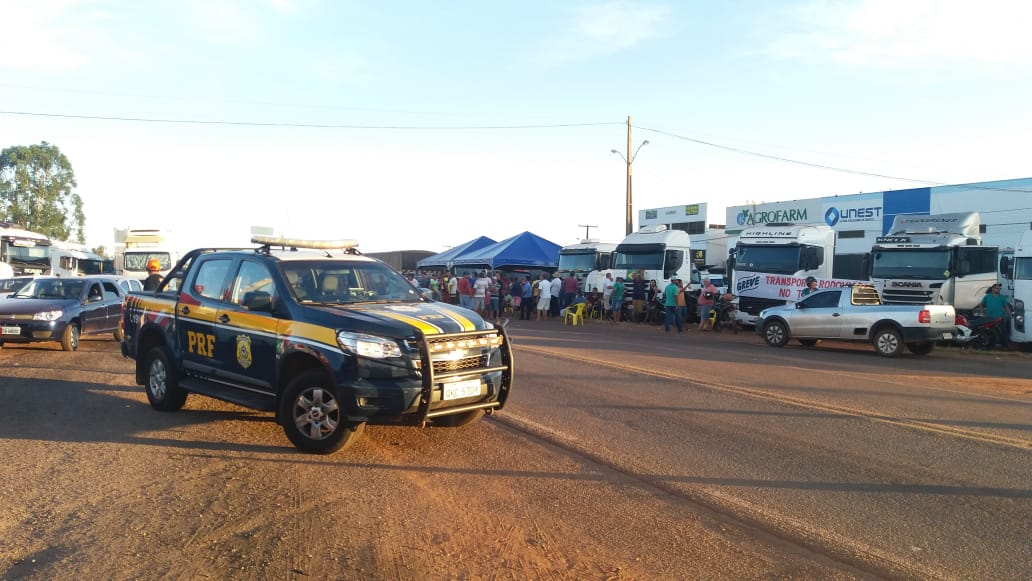 Sexto dia de paralisação dos caminhoneiros não há mudanças nas rodovias do Tocantins