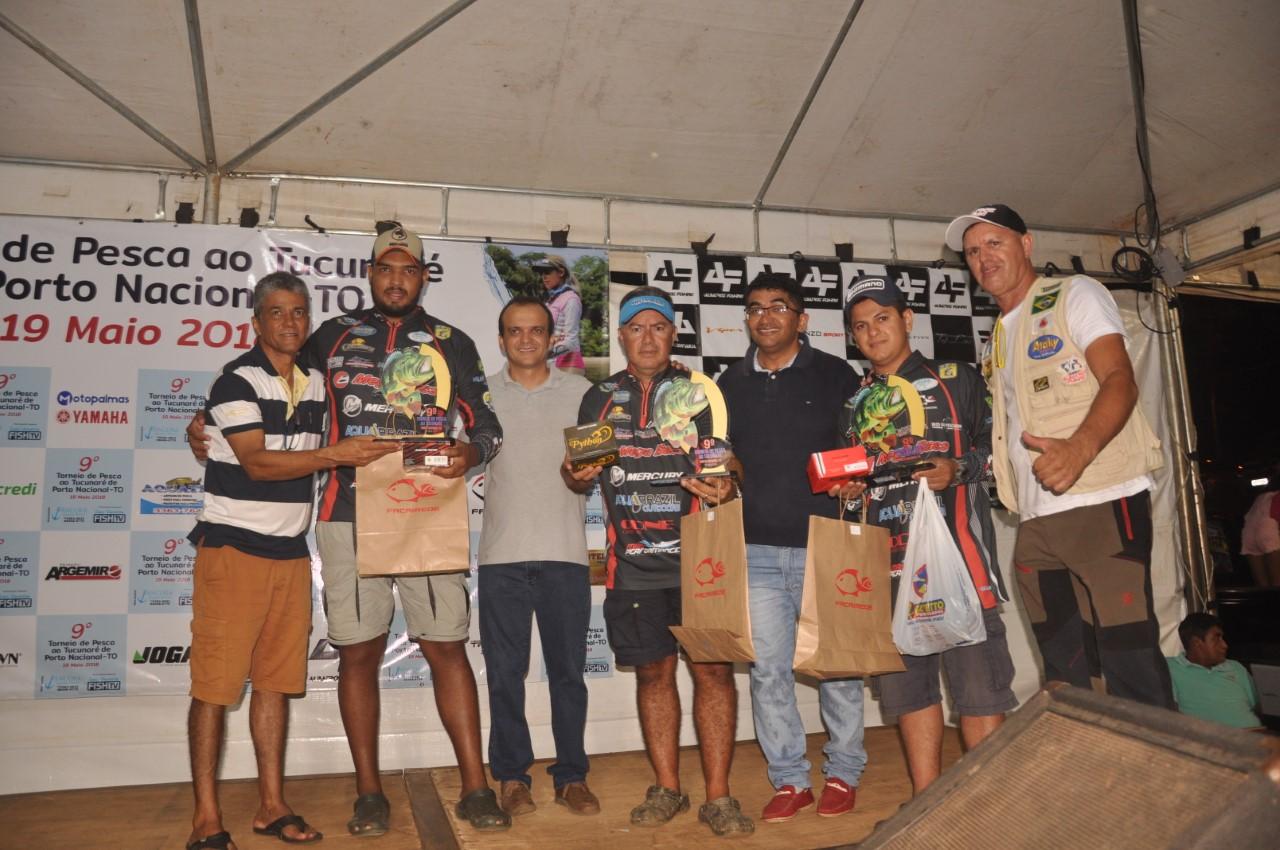 9° Torneio de Pesca ao Tucunaré consolida Porto Nacional como a capital da pesca esportiva do Tocantins