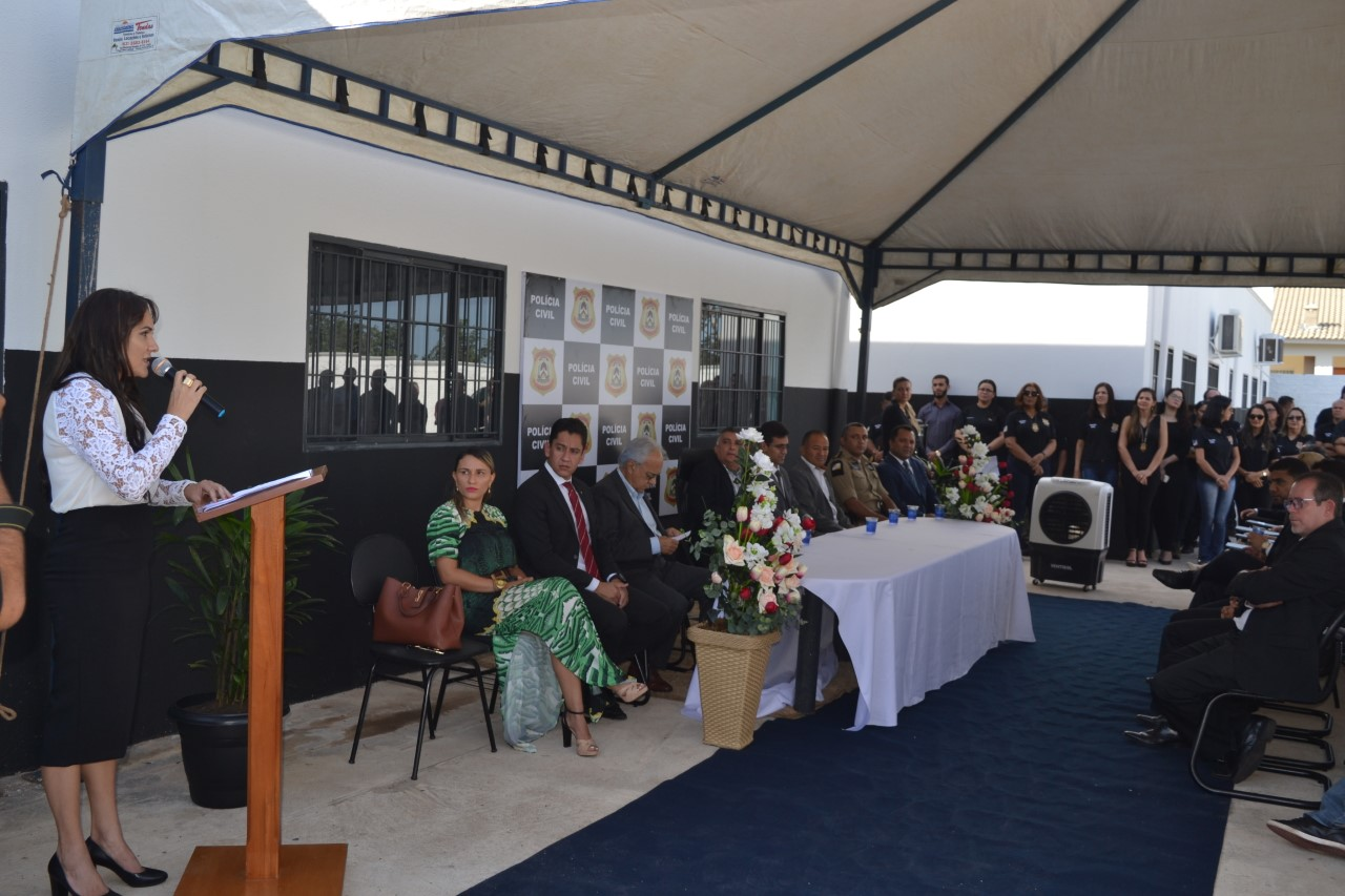 Inauguração do Complexo de Delegacias em Paraíso do Tocantins-TO, contou com a participação da Polícia Militar / 8º BPM
