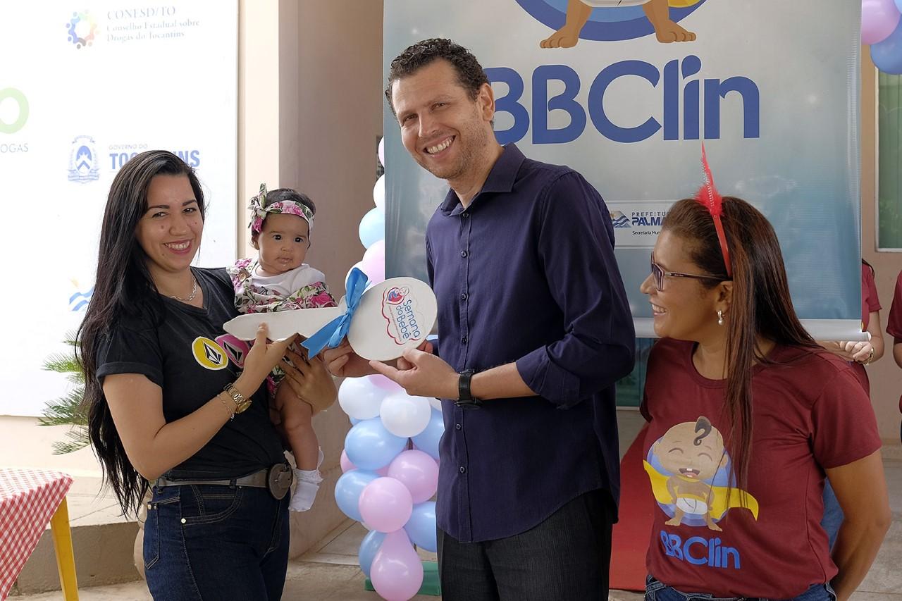 Programa BBClin chega aos três fazendo à diferença na vida de mamães e bebês