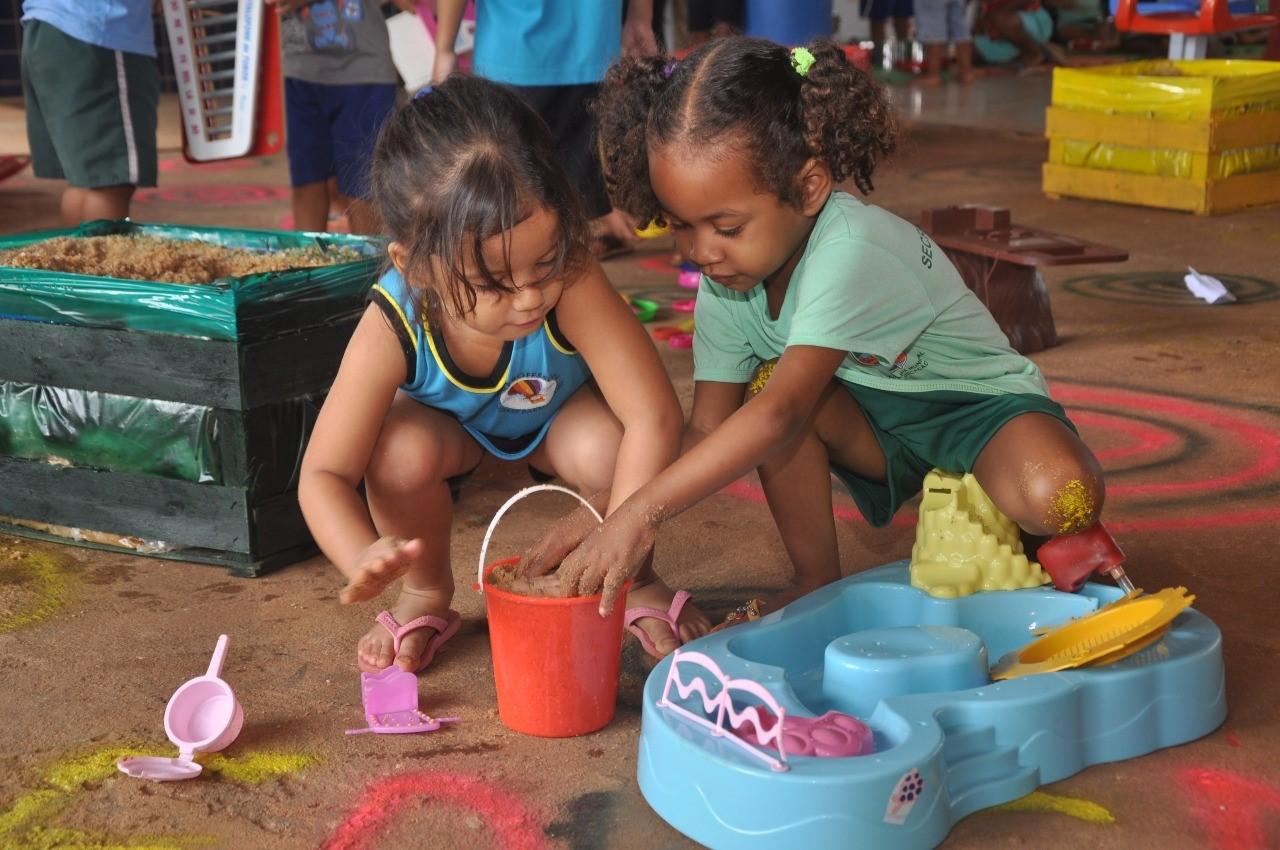 Prefeitura de Porto Nacional inaugura projeto para desenvolver aprendizagem em crianças da Educação Infantil