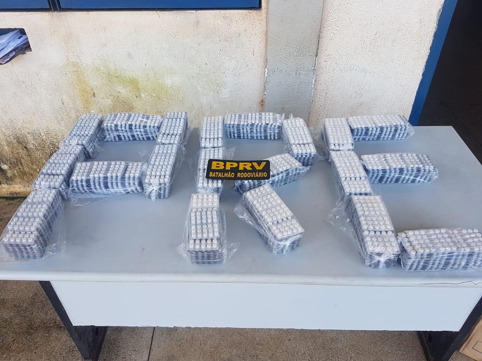 15 mil comprimidos de exctasy são apreendidos em ônibus no PA