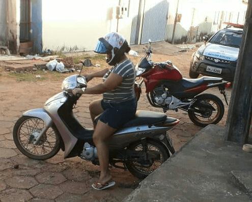 Polícia Militar recupera mais uma moto furtada e providencia a restituição para sua legítima proprietária em Araguaína