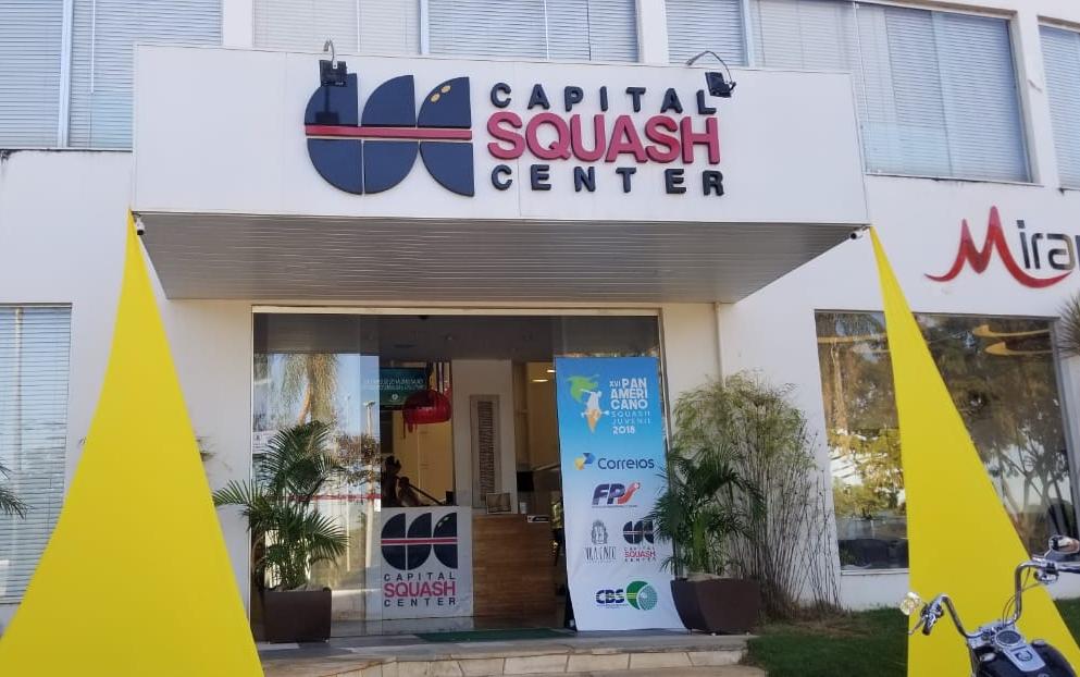 Squash: Pan-Americano Juvenil começa neste domingo com jogos da categoria Individual
