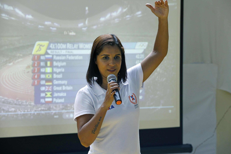 Medalhista olímpica faz palestra e interage com fãs na etapa de Salvador do Circuito CAIXA