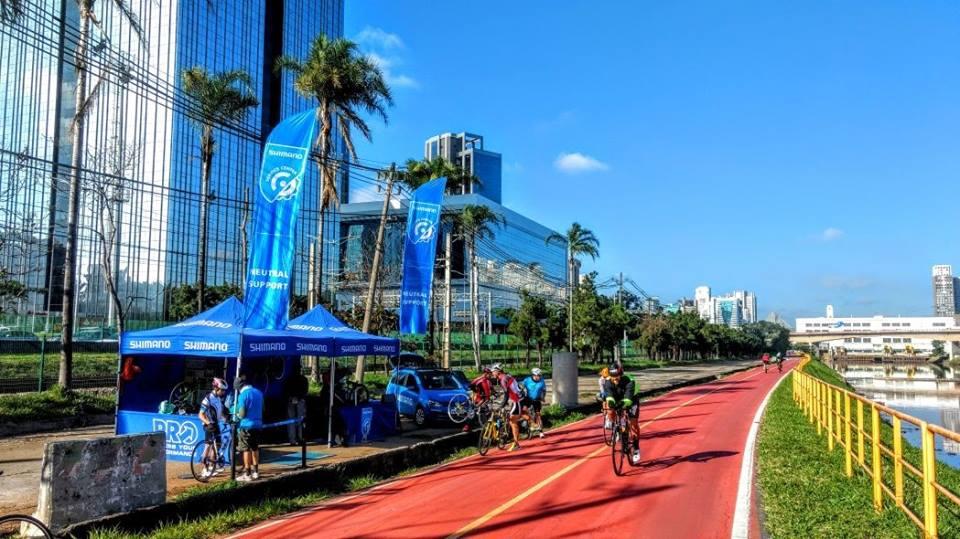 Ciclovia do Rio Pinheiros tem apoio gratuito aos ciclistas nos próximos quatro finais de semana