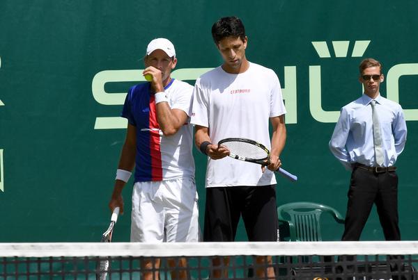 Depois da virada nas quartas de final, Melo e Kubot param na semifinal na Holanda