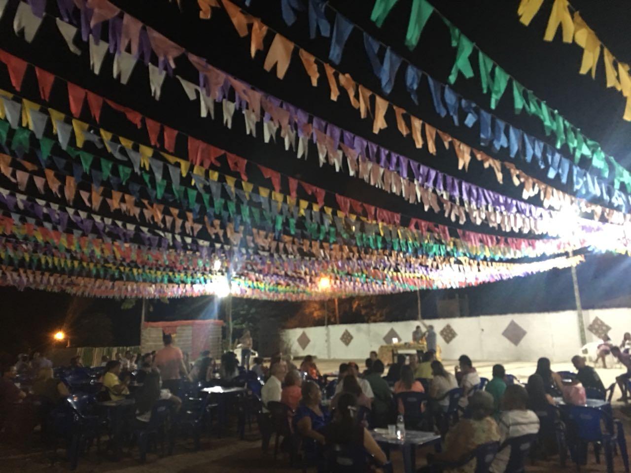 Festejos de São João tiveram início nesta sexta (15) com Novena e Missa em Dois Irmãos do Tocantins