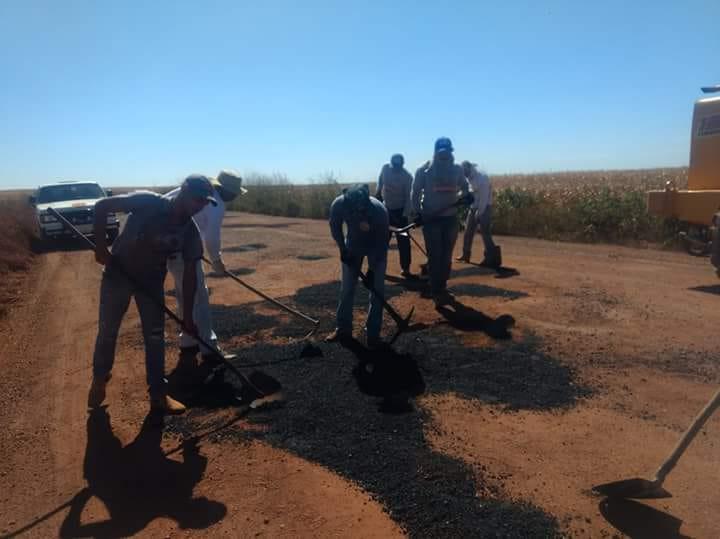 Prefeitura de Araguacema e Ageto e iniciam recuperação da rodovia até Dois Irmãos