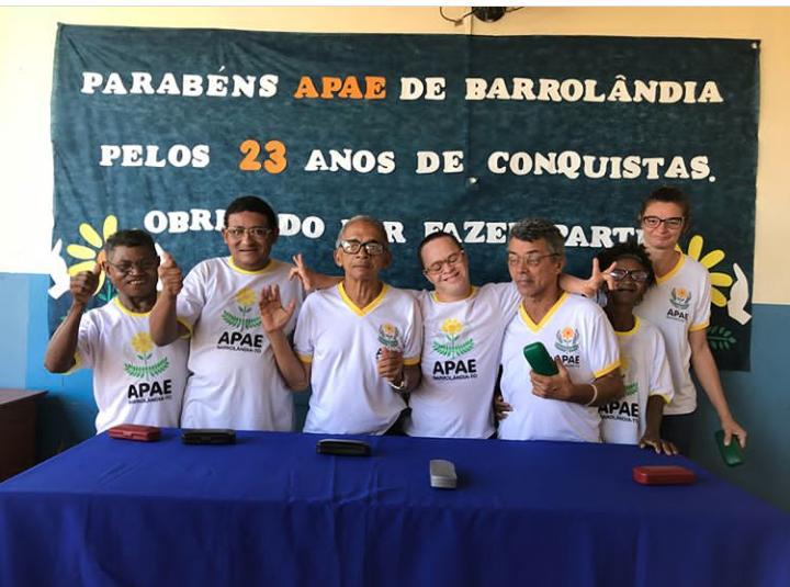 Projeto visão realiza consultas oftalmológicas e entrega óculos a alunos da APAE em Barrolândia (TO)