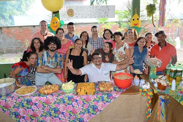 Usuários do CAPS de Paraíso do Tocantins participam de Arraial Junino