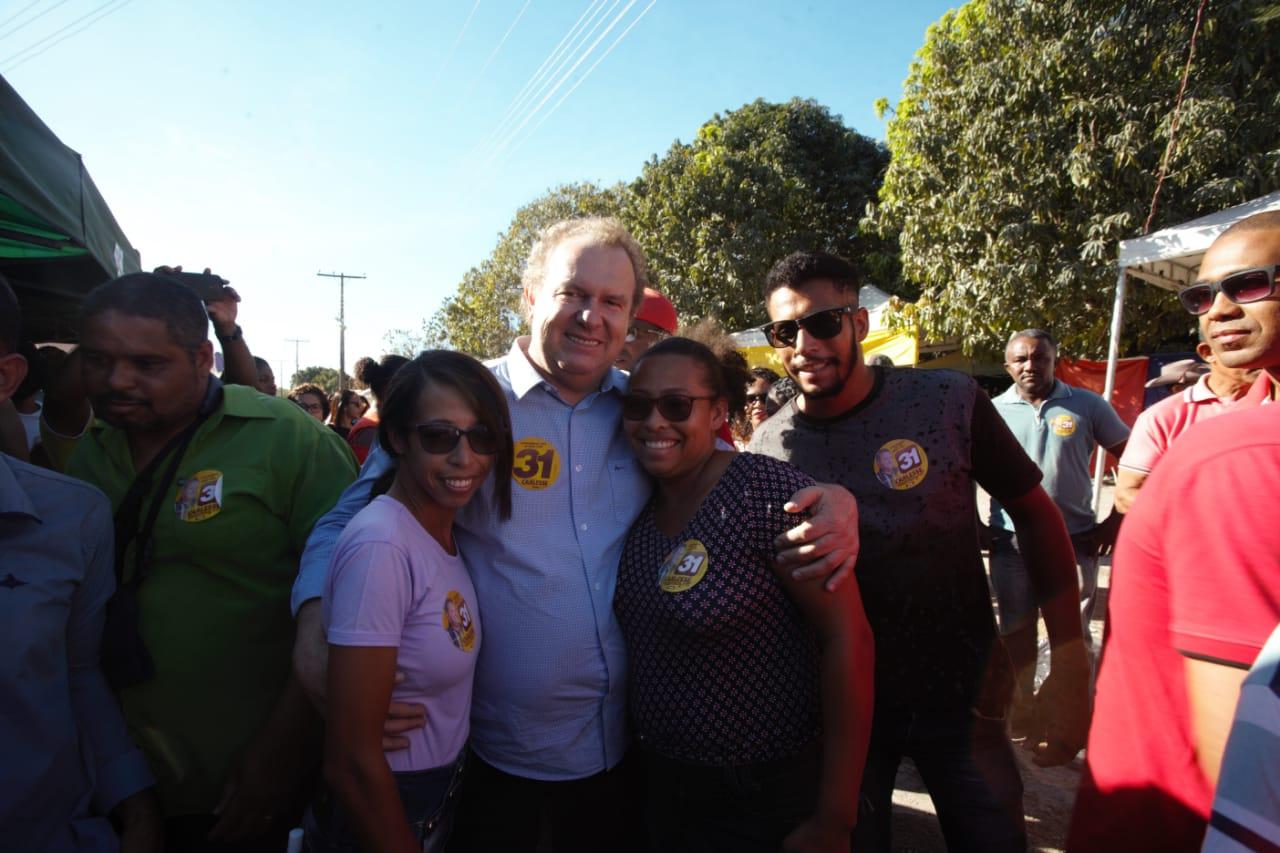 Líderes de Arraias destacam municipalismo e Carlesse fala em combate à seca e desenvolvimento