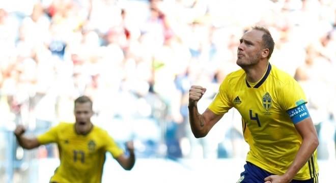 Suécia vence Coreia do Sul e deixa a Alemanha na lanterna no Grupo F