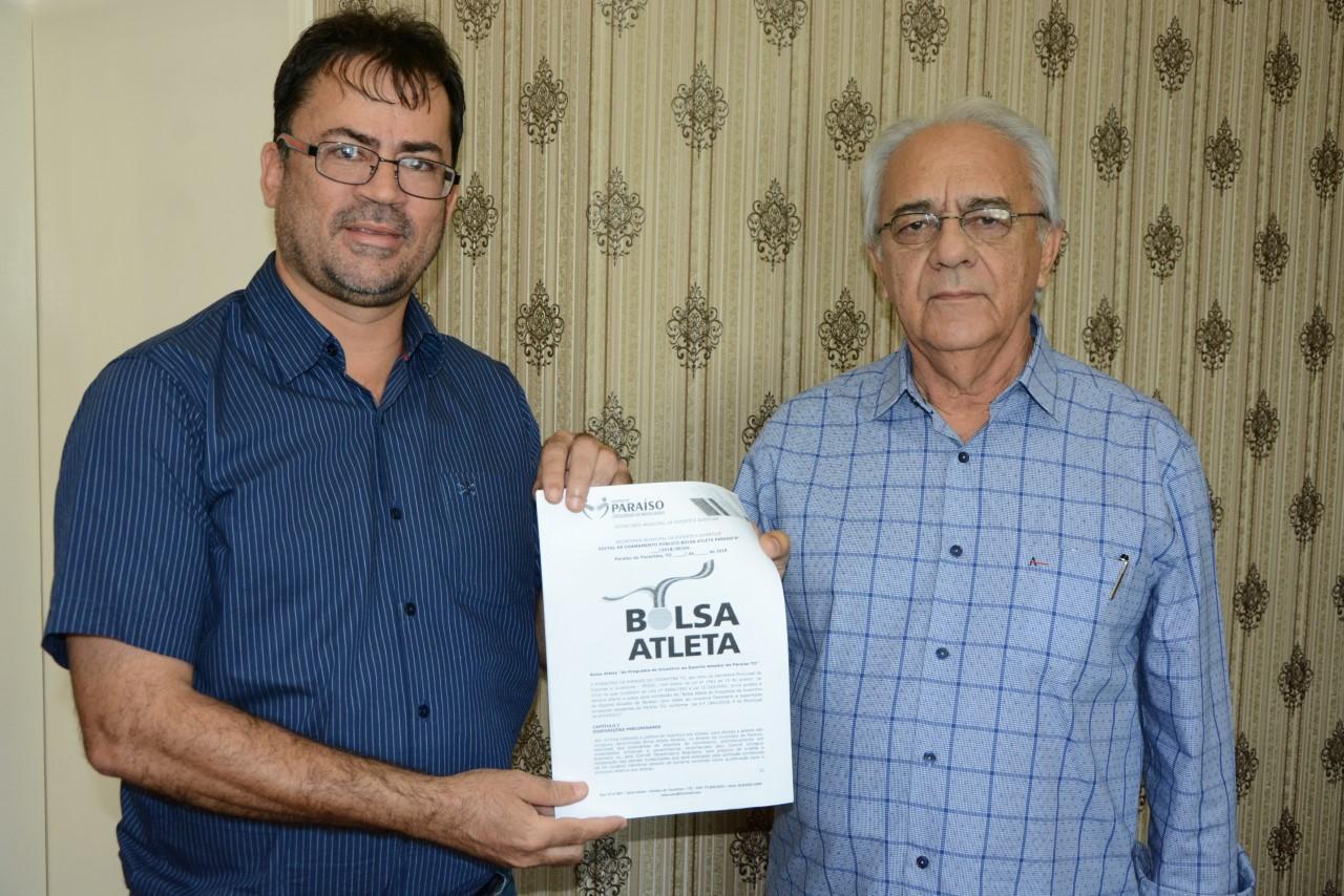 Programa Bolsa Atleta será implantado em Paraíso do Tocantins
