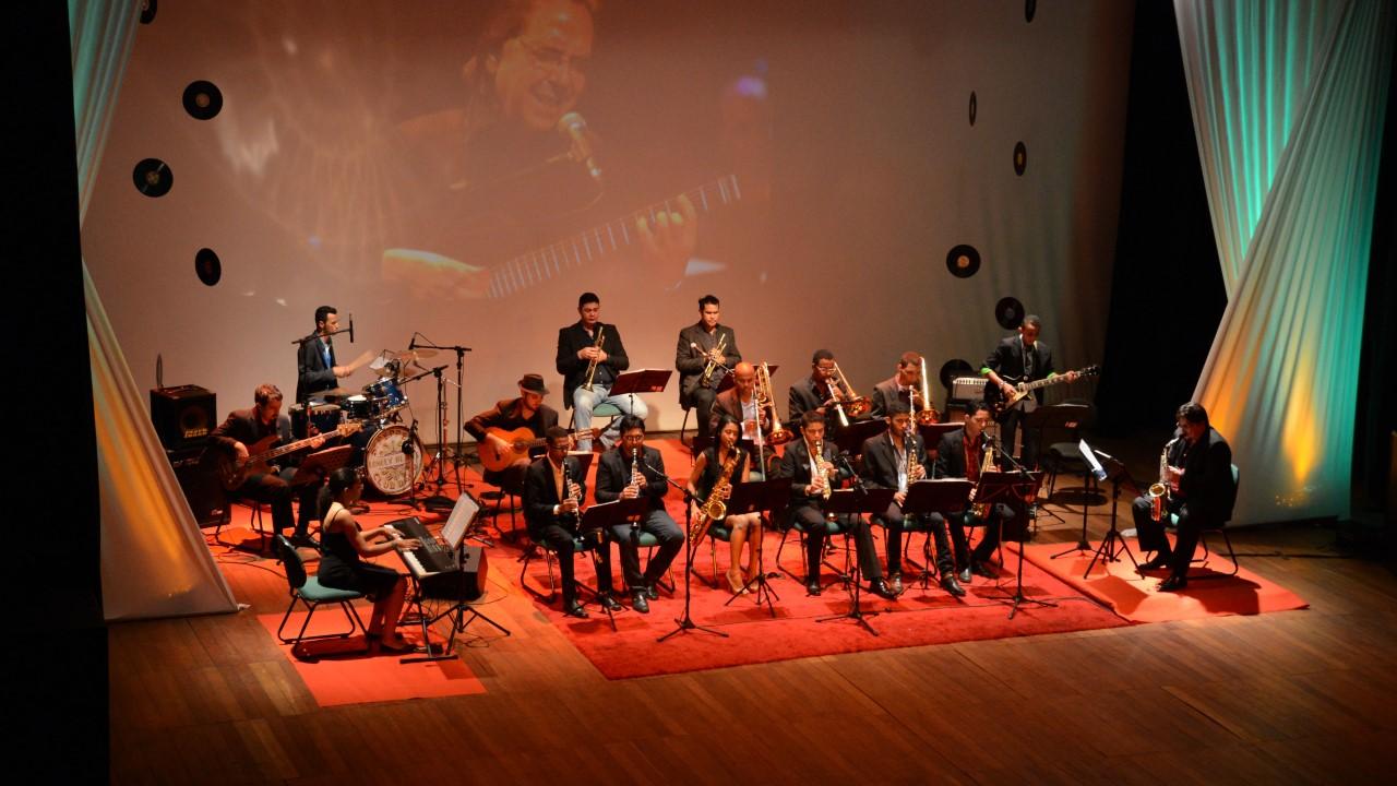 FCP Big Band in concert é o espetáculo desta sexta-feira, 22, no Theatro Fernanda Montenegro