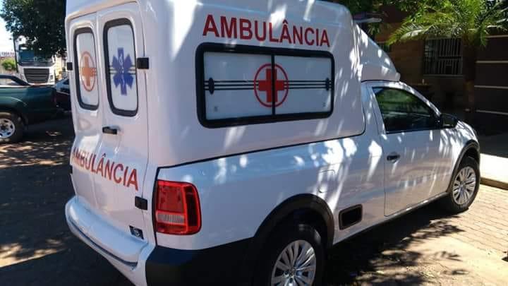Monte Santo do Tocantins recebe nova ambulância