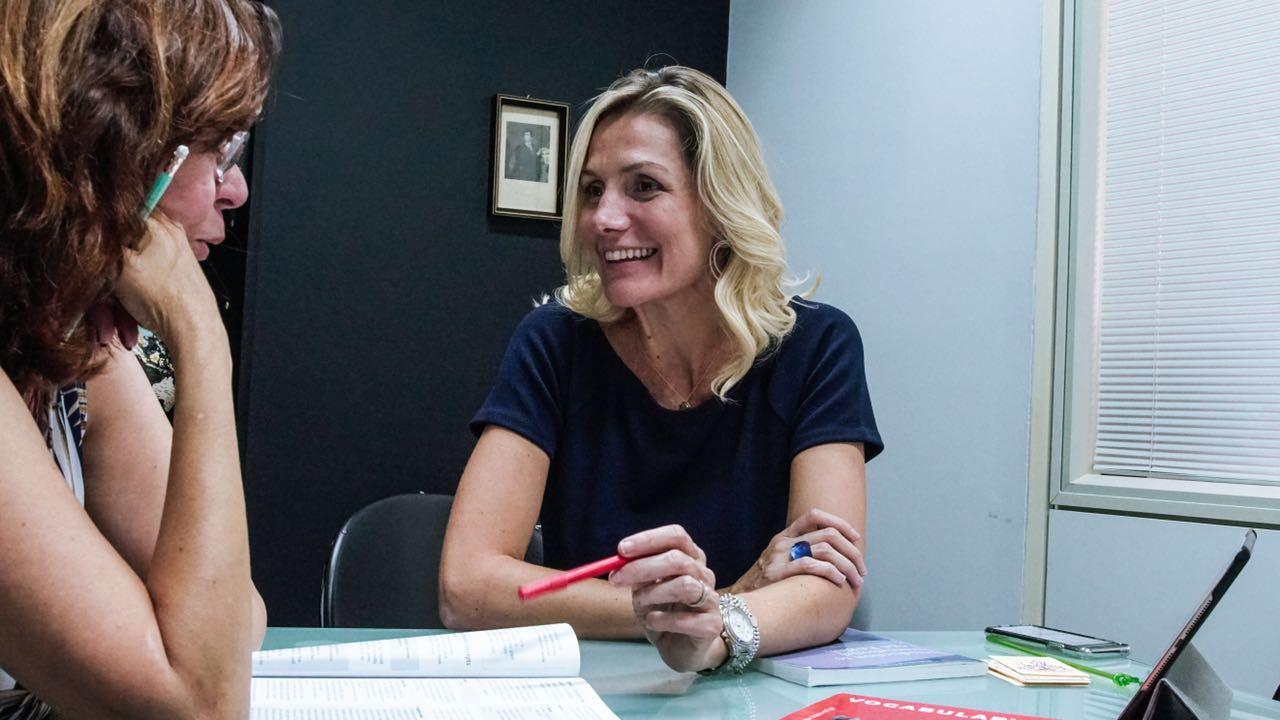 'Crise alterou o perfil dos estudantes de inglês', conta Lorenza Aildasani, idealizadora da Winner Idiomas