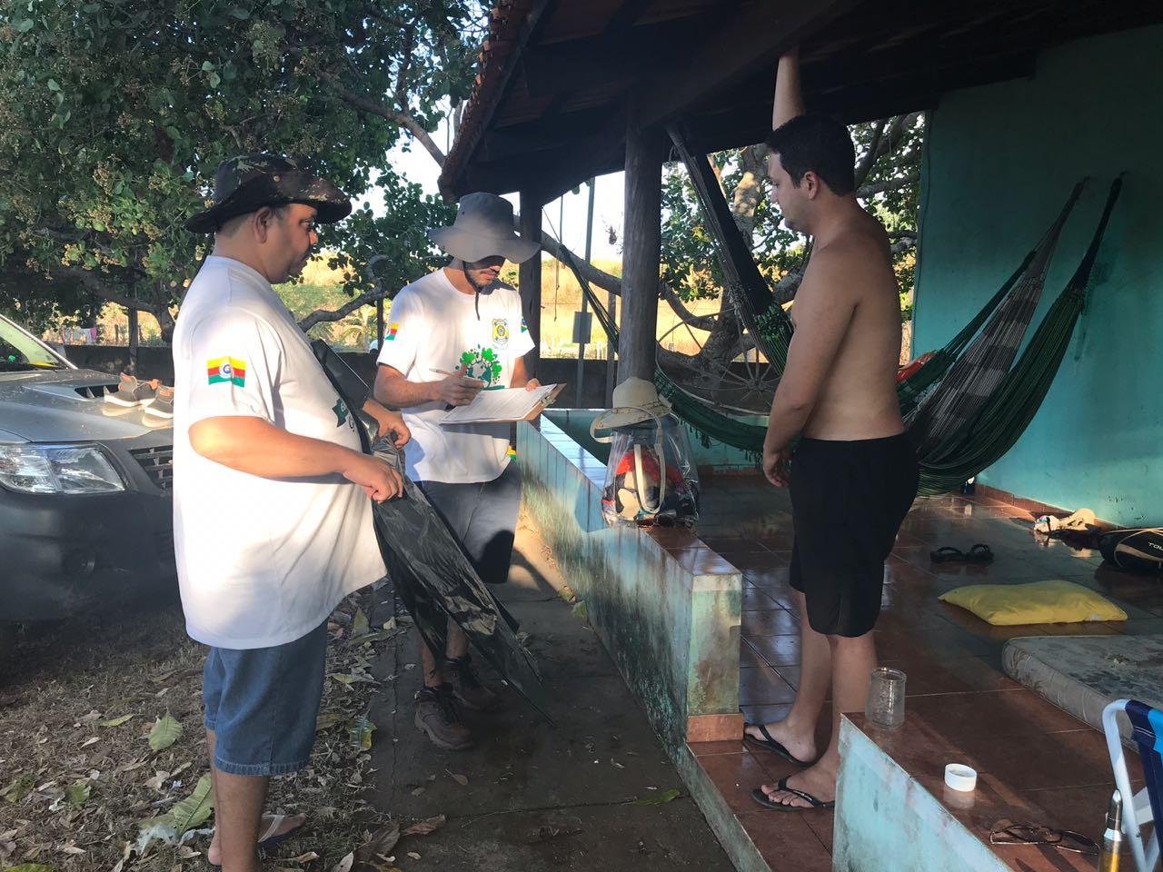 Prefeitura de Araguaína realiza fiscalização na Praia do Garimpinho