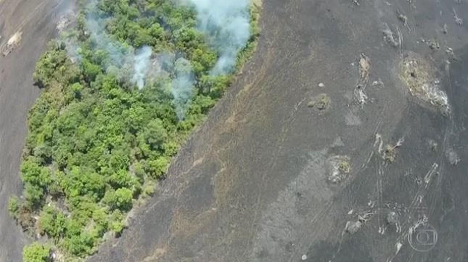Parque nacional devastado por incêndio em 2017 volta a ter focos de queimada