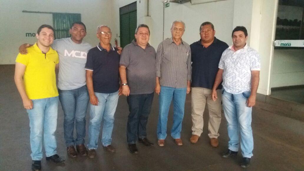 Prefeito de Paraíso recebe visita do pré-candidato a deputado estadual do Bico do Papagaio