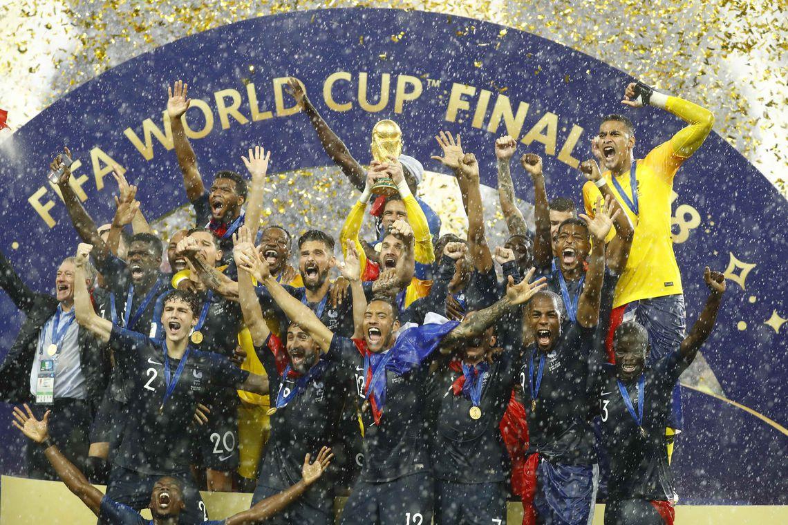 França conquista segunda Copa e se iguala a Uruguai e Argentina