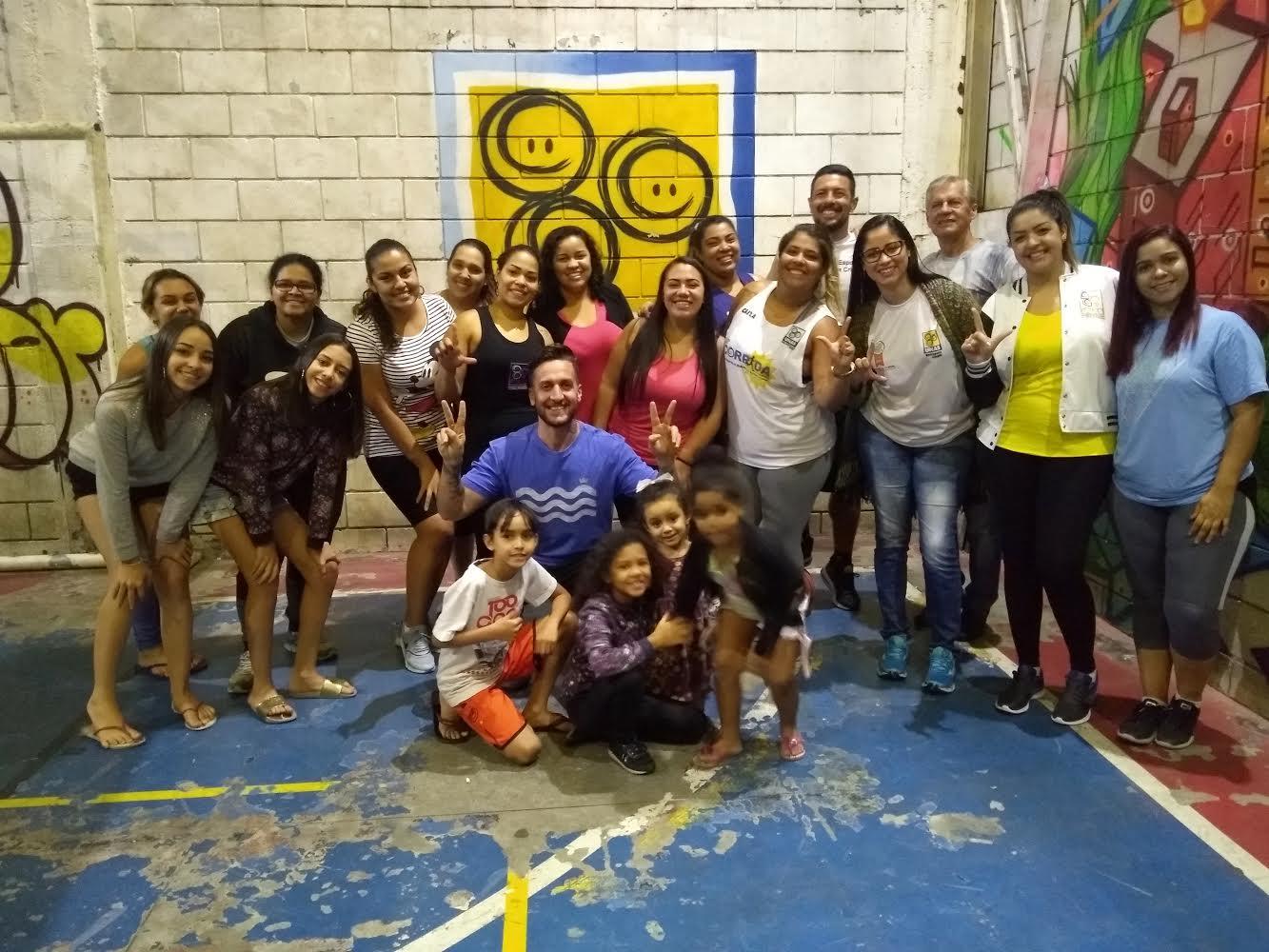 Sociedade: Preparador Físico Marcelo Santana palestra em Heliópolis sobre qualidade de vida e fitness.