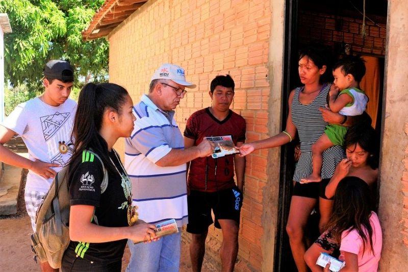 Prefeitura de Tocantínia realiza campanha contra queimadas e limpeza na Aldeia Salto